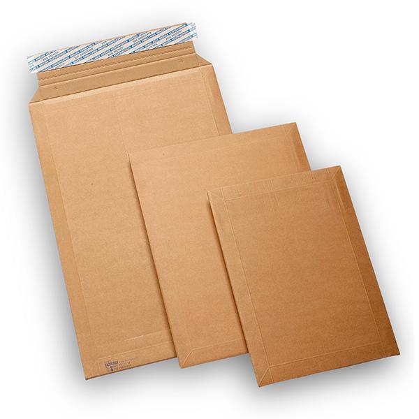 Kraftig kuverter med klæb