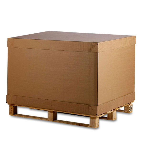Komplet 1/2 pallecontainer