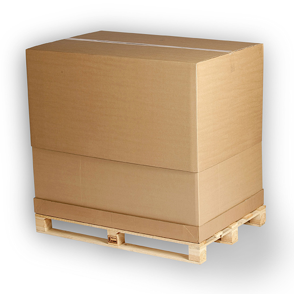 Komplet 1/1 pallecontainer